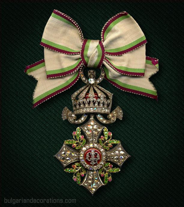 Първа степен на Дамския кръст от Ордена за Гражданска заслуга