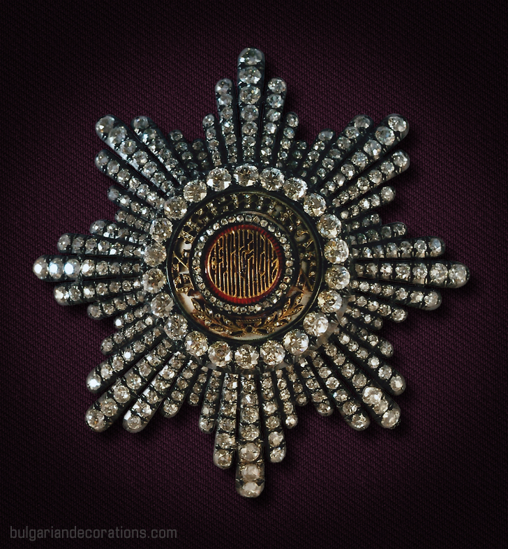 Diamond breast star of Ist Class/Grand Cross of the Royal Order of St.Alexander