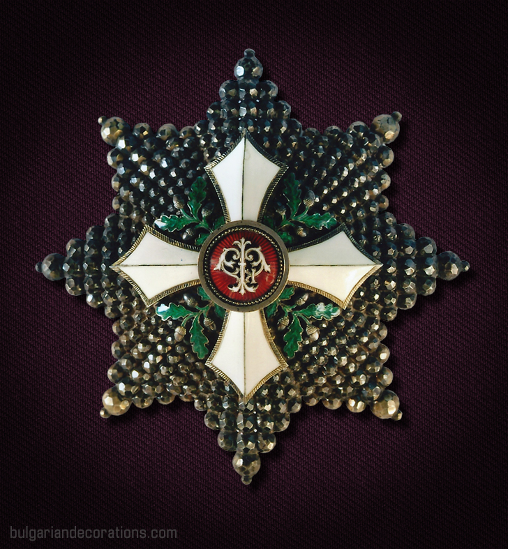 Unique brest star of the Order of Civil Merit. Worn by Prince/King Ferdinand I.