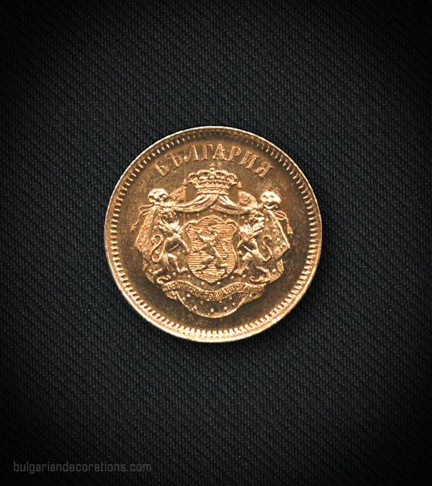 Неофициален възпоменателен медал по случай избирането на Княз Александър I за български владетел (на френски език), аверс