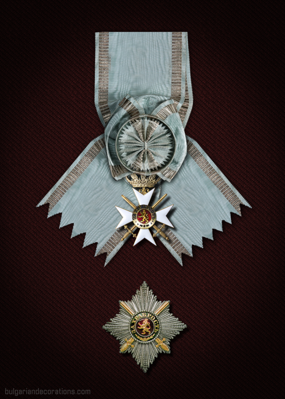 Prince Ferdinand I Grand cross set (reconstruction)