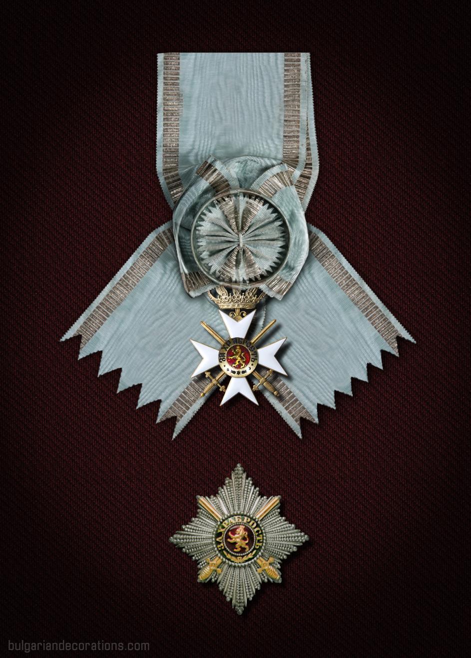 Великият кръст на Княз Фердинанд I (възстановка)