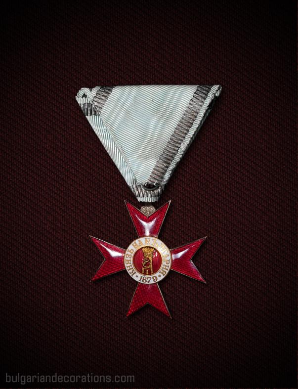 IV Степен II Клас без мечове, късна емисия '1915', реверс