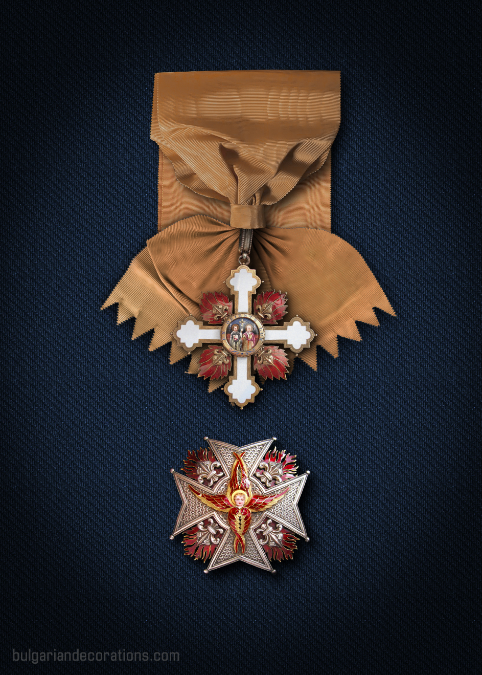 Grand cross set - badge and star